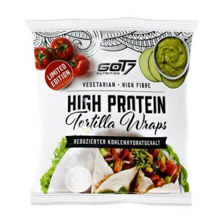 got7 protein tortilla wraps 25 cm 280 g