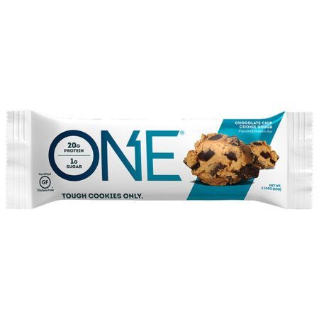 one bar chocolate chip cookie dough 60g