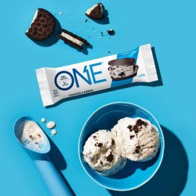 one brand one brand cookies cream one bar 2