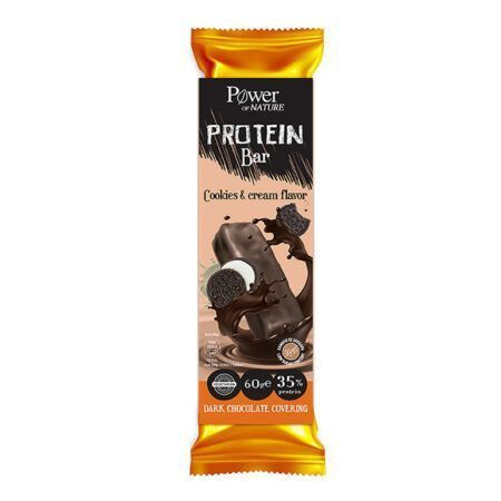 power health power of nature protein bar 60gr cookies cream