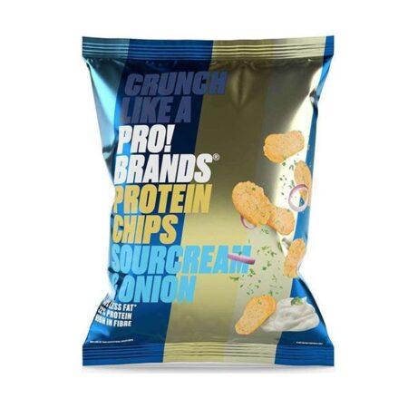 pro brands protein chips sour cream onion 50gr