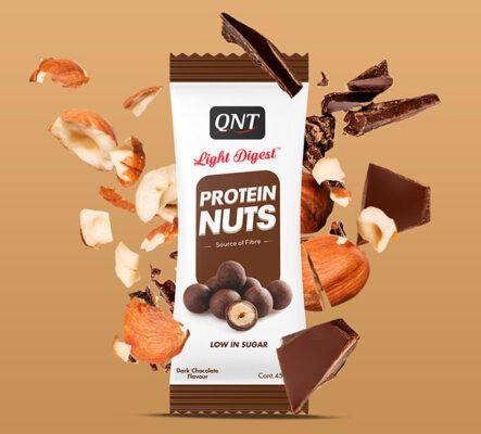 qnt light digest protein nuts 45g 2