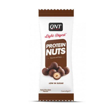 qnt light digest protein nuts 45g