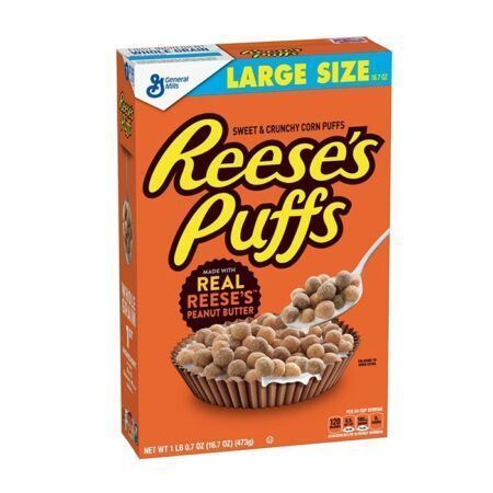 reeses puffs cereal 473g