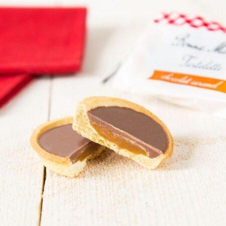 Tartelettes au chocolat au lait et caramel Bonne Maman 2