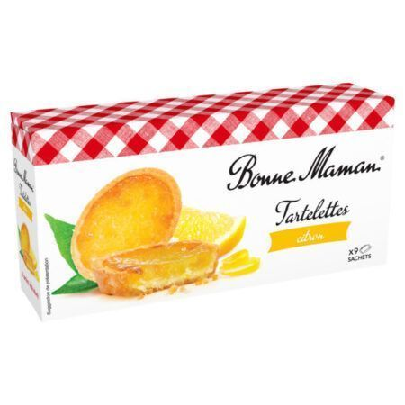 Tartelettes citron Bonne Maman