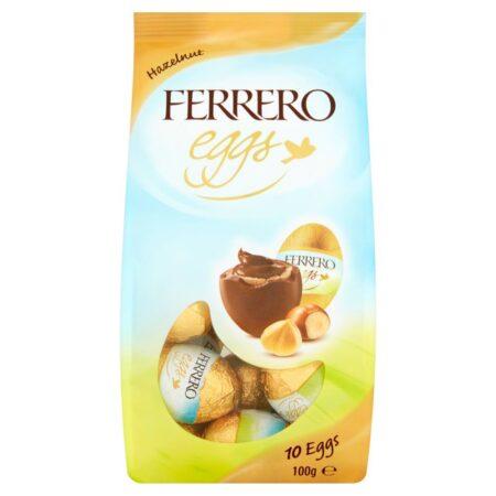 ferrero hazelnut eggs 100g