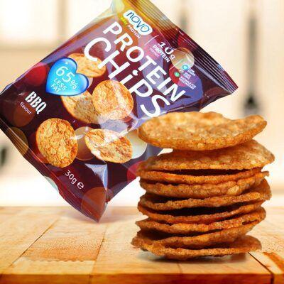 novo easy protein chips bbq 30gr 2