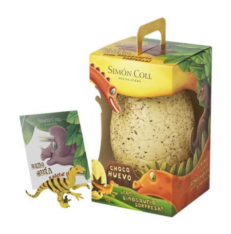 simon coll dinosaur egg 330g