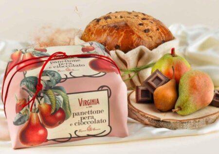 virginia colomba pera e cioccolato 2