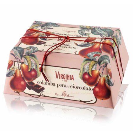 virginia colomba pera e cioccolato