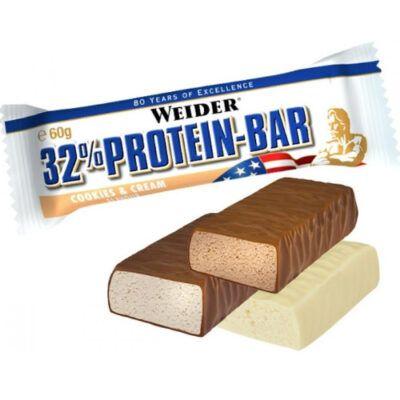 weider 32 protein bar 60g