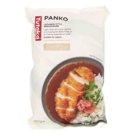yutaka panko bread crumbs 180gr