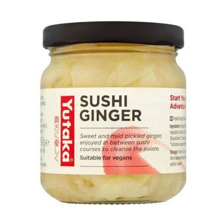 yutaka sushi ginger g