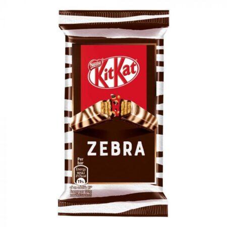 Nestle Kitkat  Finger Zebra