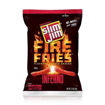 Slim Jim Inferno Fire Fries
