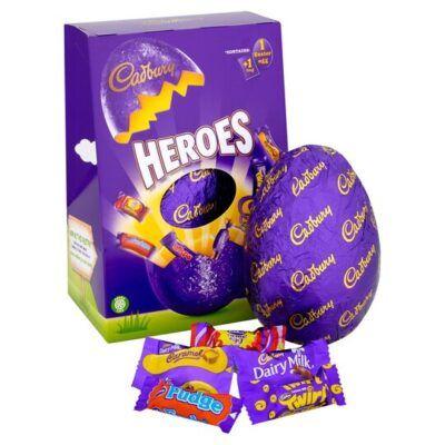 cadbury heroes egg 236g 2