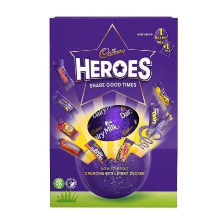 cadbury heroes egg 236g