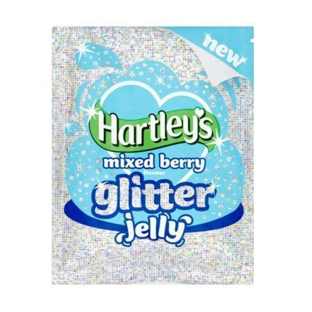 hartleys glitter jelly mixed berry