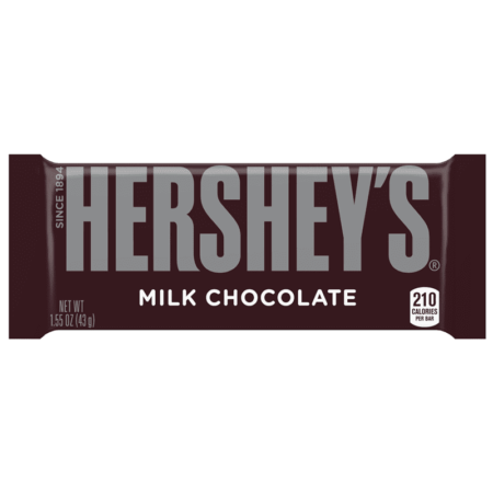 hersheys milk chocolate bar  oz g