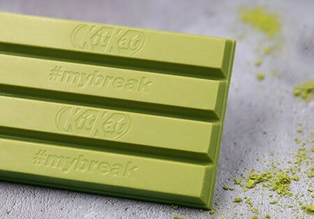 kitkat green tea matcha inspired by japan 41g 2