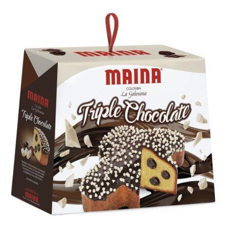 maina colomba triple chocolate 750g