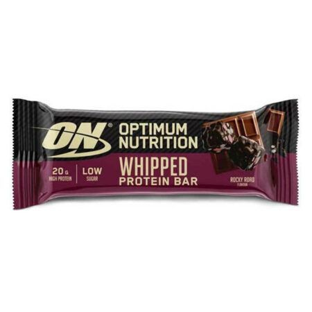 optimum nutrition whipped protein bar 60gr rocky road