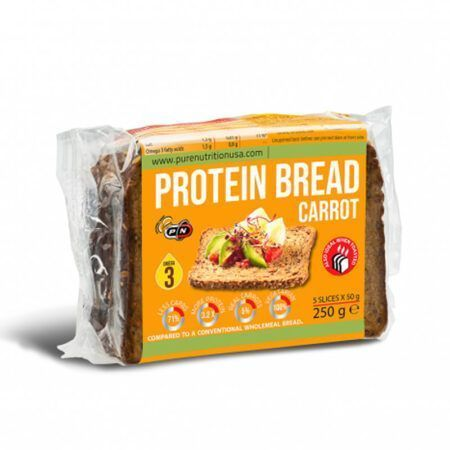 pure nutrition PROTEIN BREAD carrot