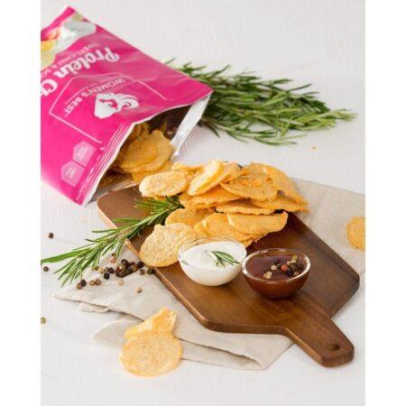 womens best protein chips salt vinegar