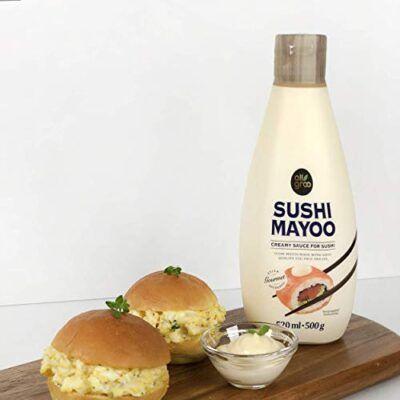 allgroo sushi mayo creamy sauce for sushi 500g