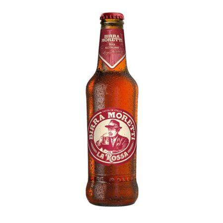 birra moretti la rossa in bottiglia
