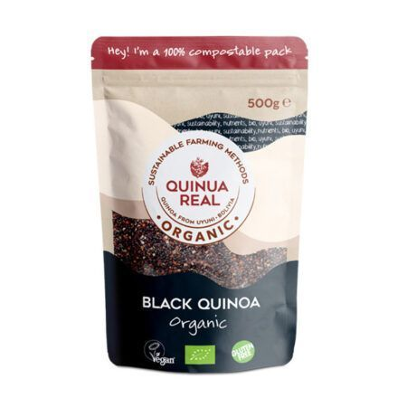 black quinoa quinua real