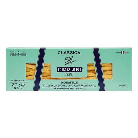 cipriani foods pasta zumarikon classiche tagliarelle 250g
