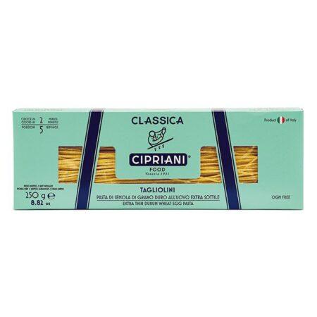 cipriani foods pasta zumarikon classiche tagliolini g