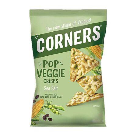 corners pop veggie crisps g