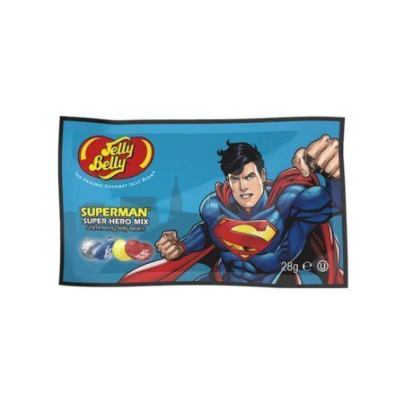 jelly belly superman hero mix 28gr