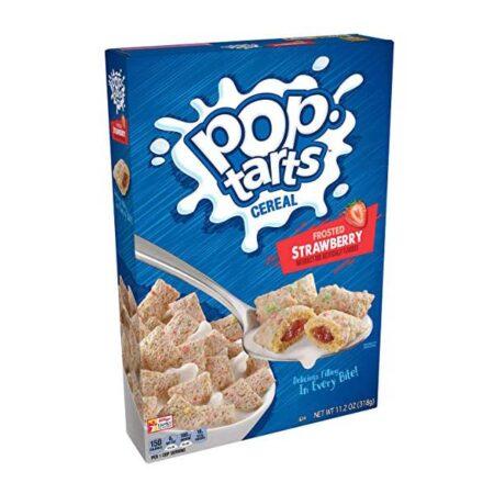 kelloggs pop tarts strawberry cereal 318g