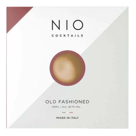 nio coctails old fashioned cocktail 100ml
