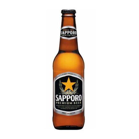 sapporo sapporo beer bottle ml