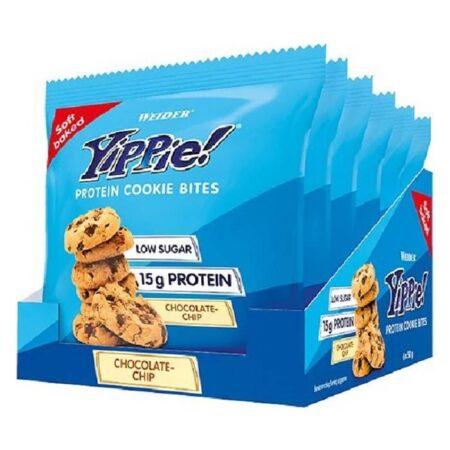 weider yippie protein cookie bites chocolate chip gr tmch