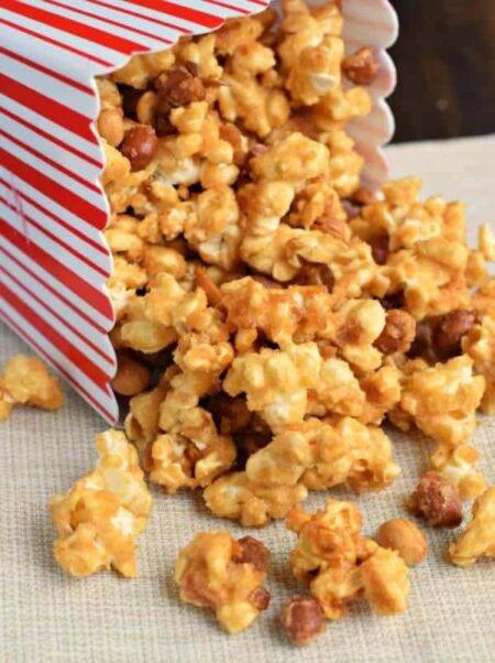 Cracker Jack Caramel Coated Popcorn  Peanuts
