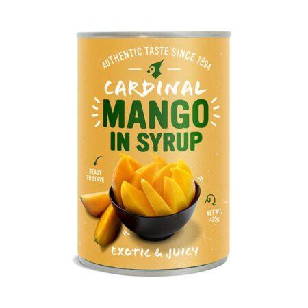 cardinal mango in syrup gr