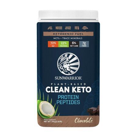 clean keto chocolate sunwarrior 720g