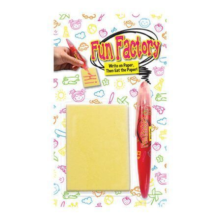 fun factory write and eat