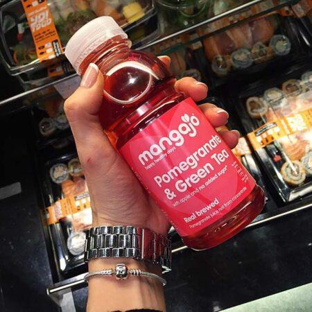 mangajo pomegranate green tea 250ml 2