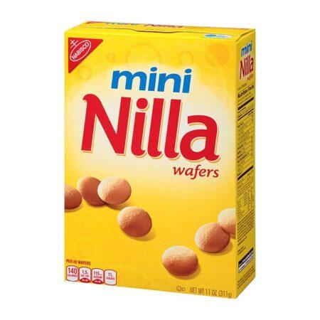 nabisco mini nilla wafers 311gr