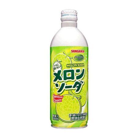 sangaria ramu bottle ramune melon soda ml