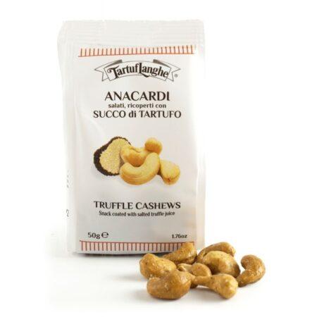 truffle cashews snack coated with salted truffle juice 50g