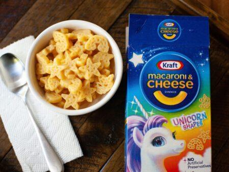 Kraft Macaroni Cheese Unicorn