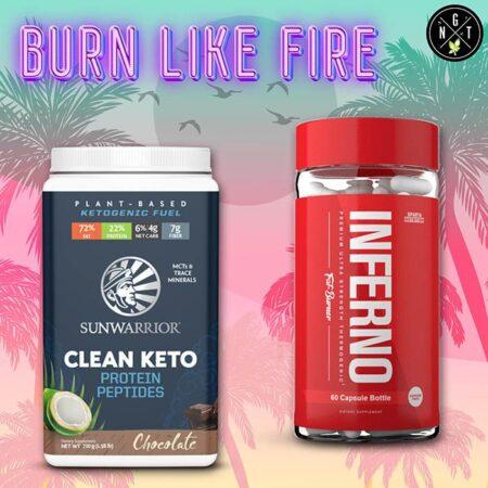 burn like fire pack